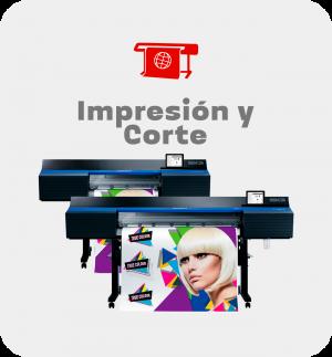 Impresión y corte